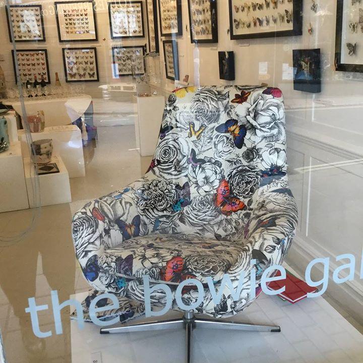 butterfly fabric chair/lorraine osborne
