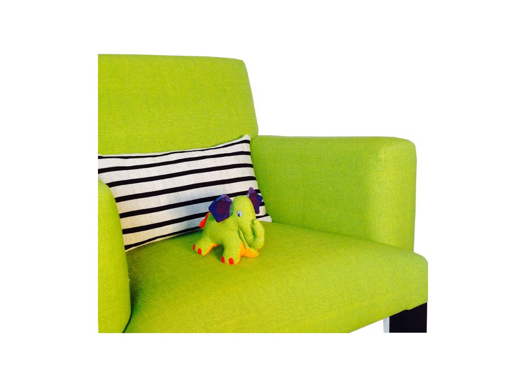 elephant chair by lorraine osborne