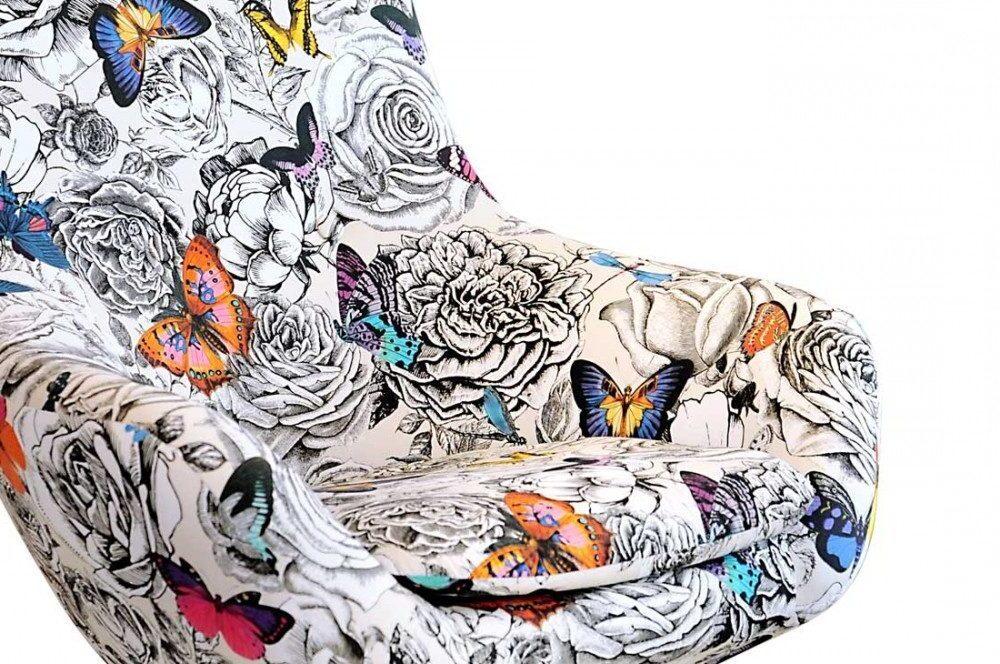 lorraine osborne/butterfly chair in gallery