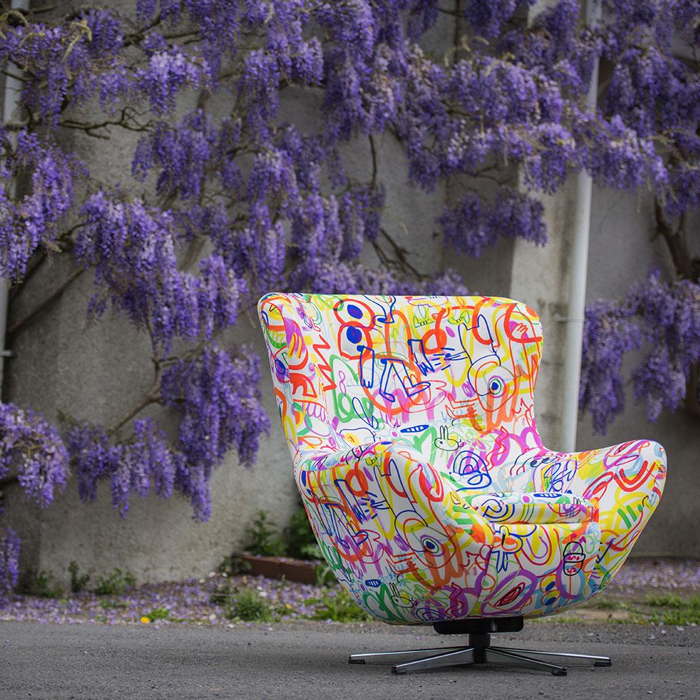 lorraine osborne.scribble chair