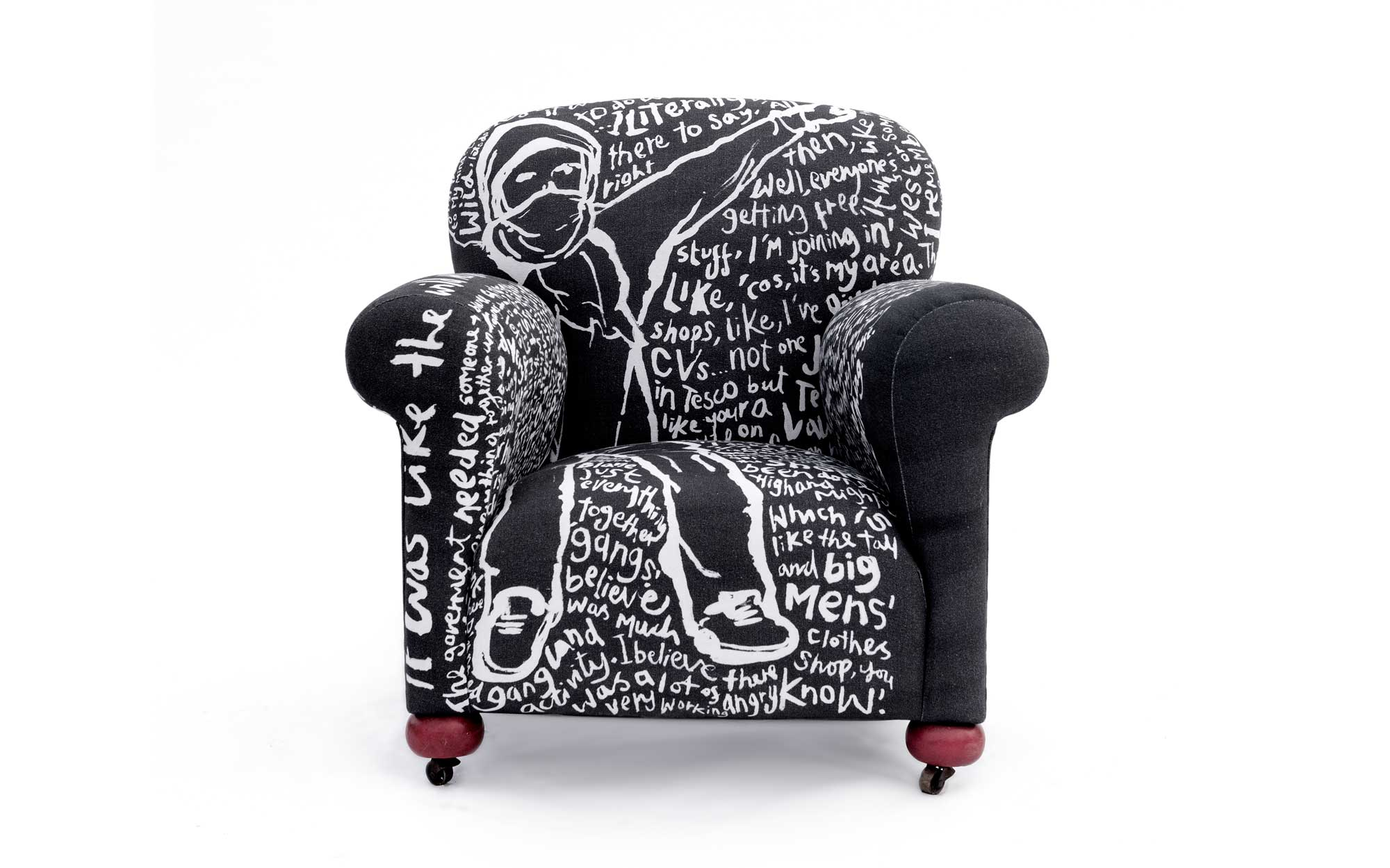 lorraine osborne.reading the riot armchair