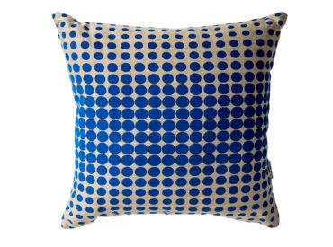 lorraine osborne. check-out cushion