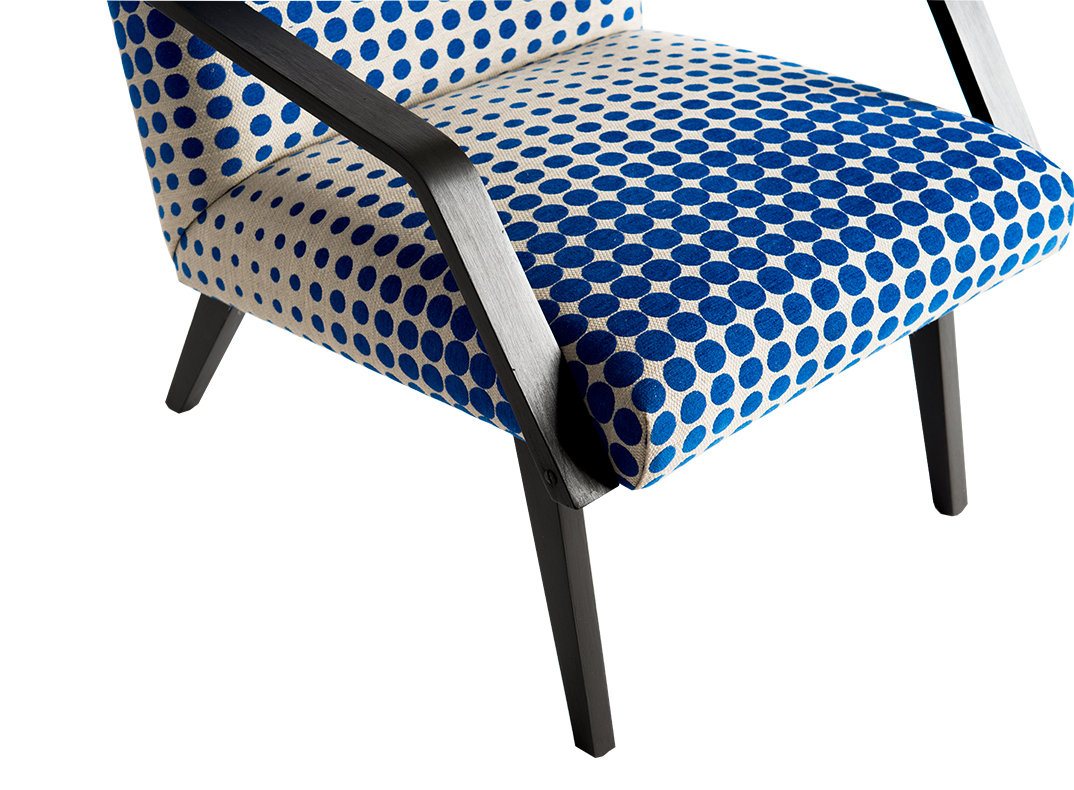 spotty chair/lorraine osborne