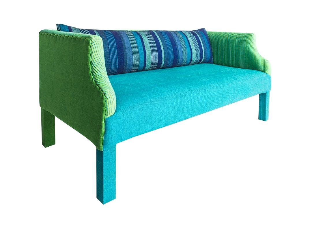 lorraine osborne. gecko sofa