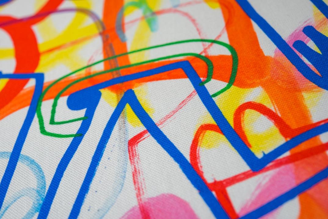 lorraine osborne/scribble fabric