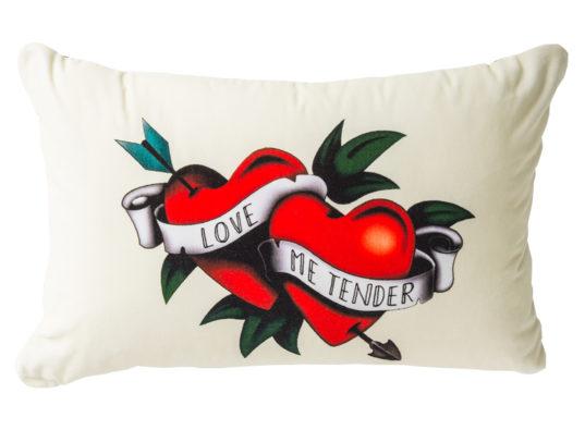lorraine osborne.love me tender cushion