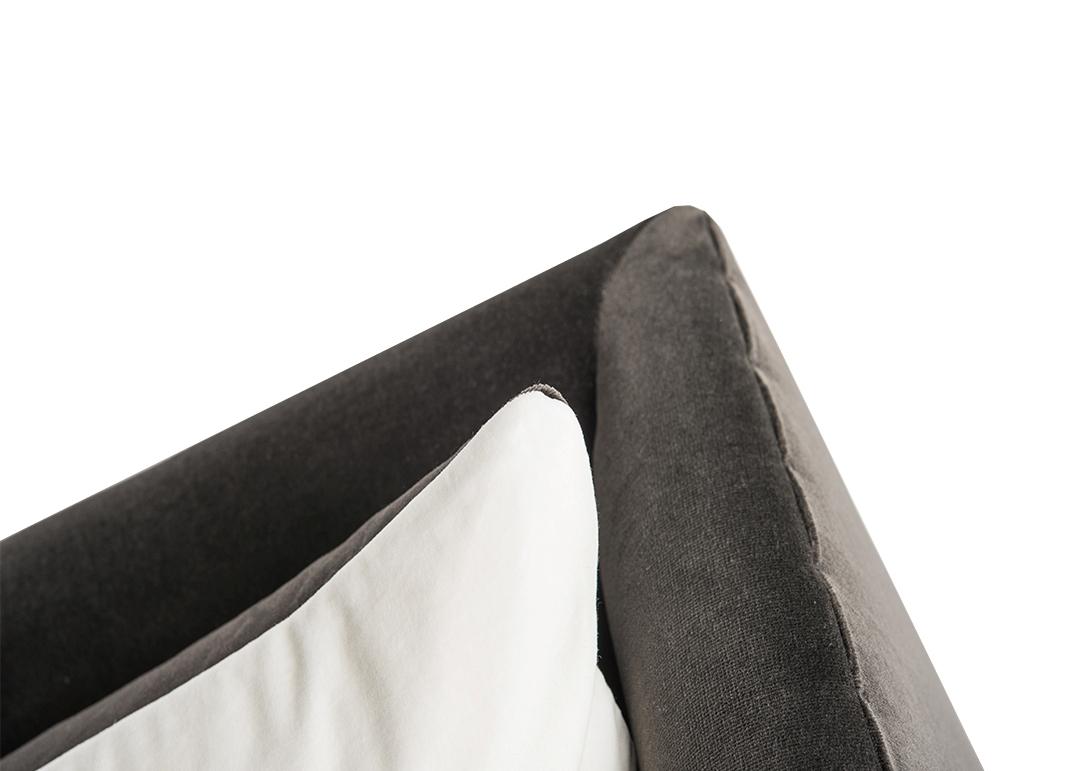 grey sofa/ lorraine osborne