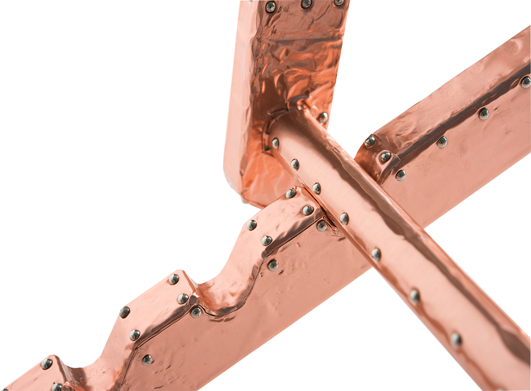 copper deckchair/lorraine osborne