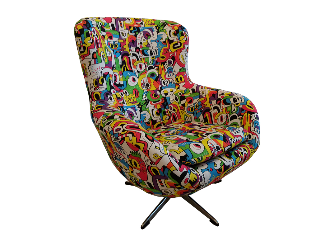 lorraine osborne. fruity tooty chair